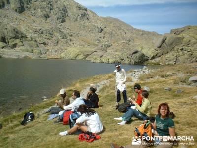 Laguna Grande de Gredos - Sierra de Gredos - Refugio Elola; viajes noviembre; viajes de verano